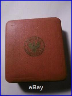 Pologne Plaque de Grand Croix de l' Ordre Polonia Restituta (1921) Argent écrin