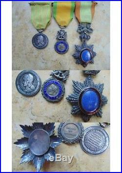 Portée dragon Annam médaille militaire campagne de Chine