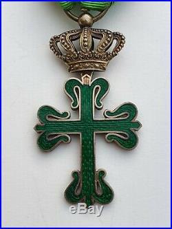 Portugal Ordre de St Benoit d'Aviz, officier en vermeil