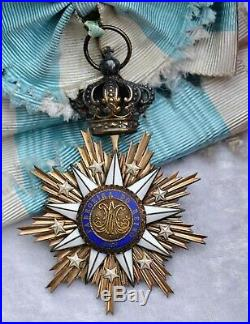 Portugal Ordre de Villa Vicosa, ensemble de Grand Croix