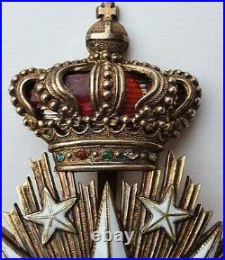 Portugal Ordre de Villa Viscosa, plaque de Grand Groix