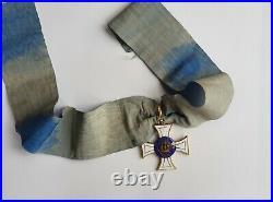 Prusse Ordre de la Couronne, croix de commandeur en or