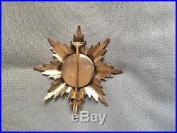 Prussia médaille state un ordre royal de la couronne première classe