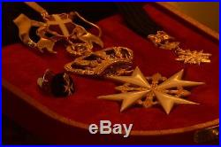 RARE A SAISIR! Chevalier de grâce magistrale VERMEIL Ordre de malte ordine malta