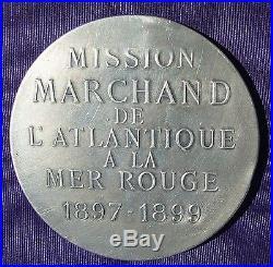 RARE MEDAILLE MISSION MARCHAND ATLANTIQUE à la MER ROUGE pour membre expédition