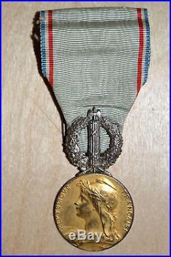 RARE médaille ministère des colonies administration pénitentiaire BAGNE MEDAL
