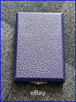 RARE médaille en cristal de baccarat FRANCISQUE PETAIN REGIME DE VICHY