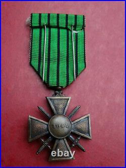 Rare Croix de Guerre 1944