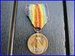 Rare Medaille Interalliée Roumanie