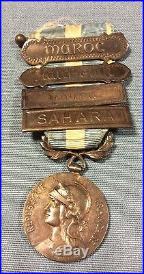 Rare Medaille Militaire coloniale