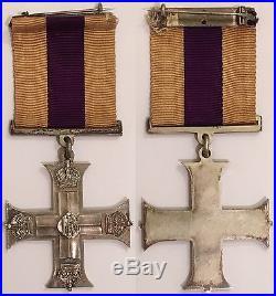 Rare Military Cross George V (fabrication officielle britannique de 1914-1918)