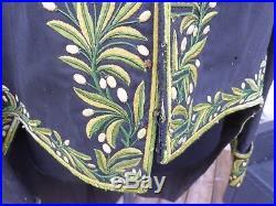 Rare ensemble brodée d'académicien avec son bicorne III république, general