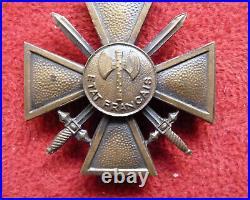 Rare et authentique croix de guerre 1944