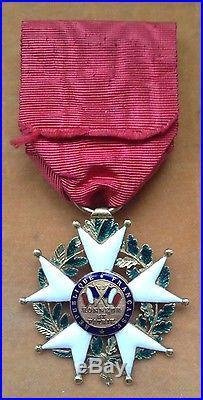 Rare étoile d'officier de la Légion d'Honneur époque 2ème République