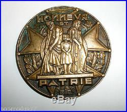 Rare médaille Sociéte d'entraide des menbres de la légion d'honneur A. Galtié