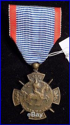 Rare médaille des Volontaires Luxembourgeois 1914-1918