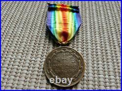 Rare médaille interalliée Roumaine WW1, rare romania WW1 medal