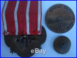 Rare médaille mission militaire d armement franco polonaise 1920 DE GAULLE