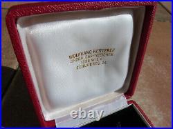 Rare plaque grand officier ordre national du mérite Autrichien bijoutier