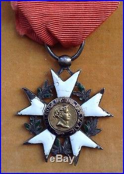 Rare étoile de chevalier de la Légion d'Honneur 1er Empire, 1er type