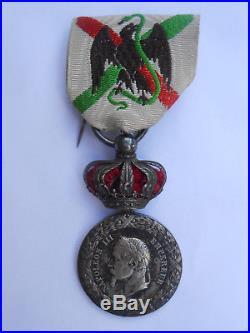 Rarissime EXPEDITION du MEXIQUE avec COURONNE 1862-1863 //Barre