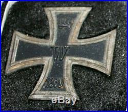 Rarissime croix de fer 1ére classe 1870 avec sa boîte d'origine ORIGINALE