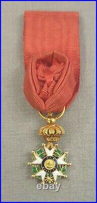 Reduction De L'ordre De La Legion D'honneur Monarchie De Juillet Henri IV En Or