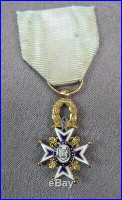 Reduction De La Medaille De L'ordre De Charles III D'espagne