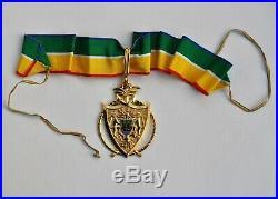 République du Gabon, Ordre National du Mérite, croix de commandeur
