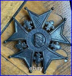 Restauration Plaque de Grand Croix de la Legion d'Honneur