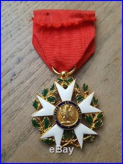 Retirage Ordre de la Légion d'honneur Aigle Premier Type Empire order France