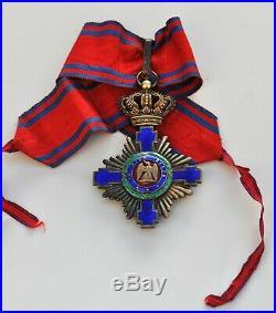 Roumanie Ordre de l'Etoile, commandeur