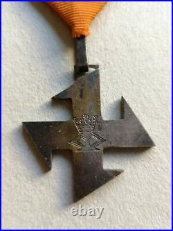 Roumanie Ordre de la Reine Marie 1917 2ème Classe en argent Médaille WW1