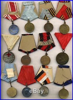 Russie Lot 15 médailles