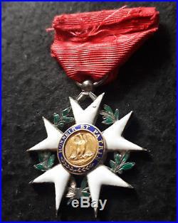 SPLENDIDE étoile de chevalier de la Légion d'Honneur du 1er Empire 1er type