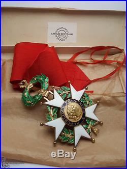 SUPERBE Commandeur de la Légion d'Honneur Artus-Bertrand IVème république
