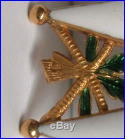 SUPERBE, EN OR Ordre de la Légion d'honneur Napoléon Second Empire order medal