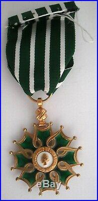 SUPERBE ETAT En vermeil Ordre des arts et lettres FRANCE Order medal medaille
