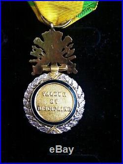 SUPERBE MEDAILLE MILITAIRE 1870 LUXE dite DES GENERAUX