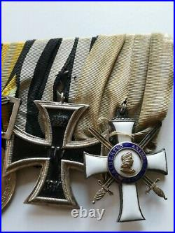 Saxe / Finlande Ordre D'albert Croix De La Liberté Dem Verdienst Ek2