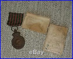 Second Empire Médaille de Sainte Hélène boîte Ordre Napoléon attribuée