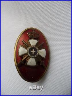 Serbie Badge société Ordre de Karageorge