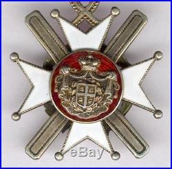 Serbie Ordre de la Croix de Takovo 4ème classe 1883/1903