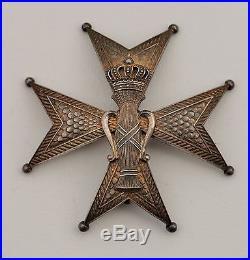 Suede Ordre de Vasa, plaque de Grand Officier dans son écrin