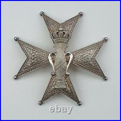 Suede Ordre de Vasa, plaque de Grand Officier en argent