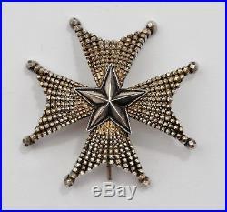 Suède Ordre de l'Etoile Polaire, plaque de Grand Officier