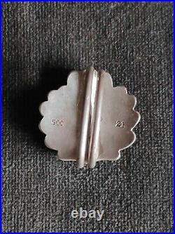 Superbe Feuilles de chêne de croix de Chevalier (Ritterkreuz) WW2 haute qualité