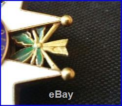 Superbe Legion D'honneur 1870 En Or 18 Carats