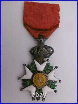 Superbe Médaille Chevalier Ordre Légion d'Honneur Second Empire french medal