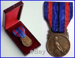 Superbe Médaille des Victimes de l'Invasion dans son écrin